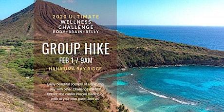 2020 Ultimate Wellness Challenge: Hana'uma Bay Ridge Hike tickets