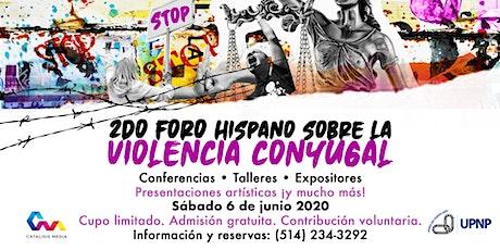 Foro hispano sobre la violencia conyugal (2020) tickets