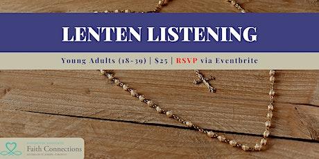 Lenten Listening tickets