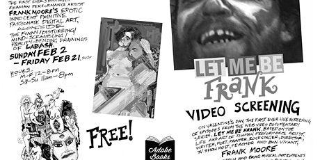 Let Me Be Frank Video Screening tickets
