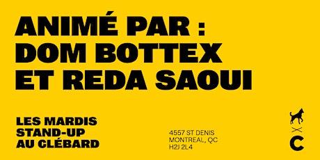 Les Mardis Stand-Up Au Clébard billets