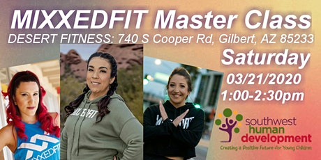 Mixxedfit Master Class/Fundraiser Benefiting Southwest Human Development tickets