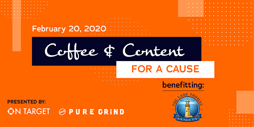 Coffee & Content for a Cause: Meetup for Business Owners & Marketers