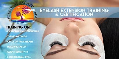 Freedom Escape Spa Eyelash Extension Training