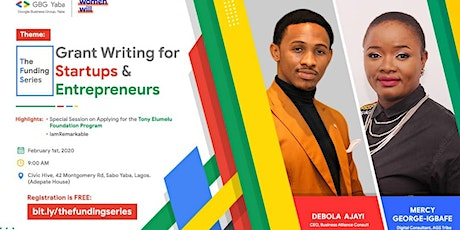 Grant Writing for Startups and entrepreneurs [The Funding Series] tickets