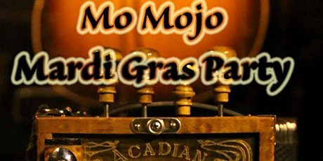 Mo Mojo Annual Fat Tuesday Mardi Gras party at the G.A.R. Hall tickets