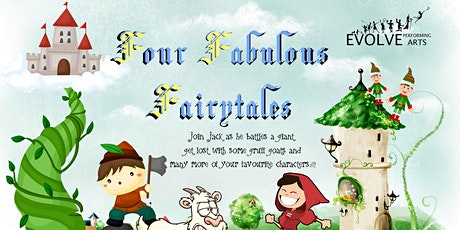 The Four Fantastic Fairytales tickets