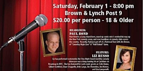 WBCC Comedy Night Fundraiser Featuring Liz Russo & Paul Bond tickets