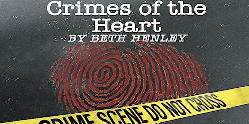 Crimes of the Heart - Saturday, March 14, 2020 - 2:00PM