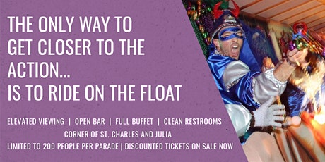 The Ultimiate Mardi Gras Parade VIP Viewing Party  tickets