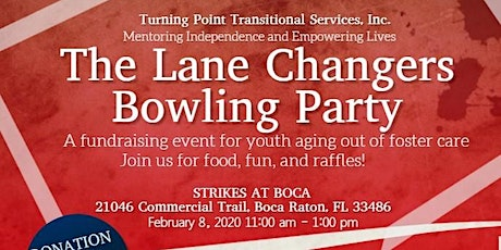 The Lane Changers Bowling Party tickets