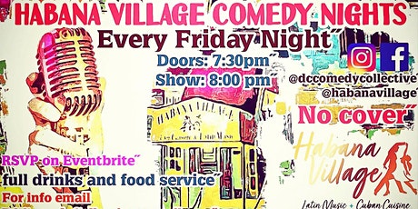 Habana Village Comedy Nights tickets