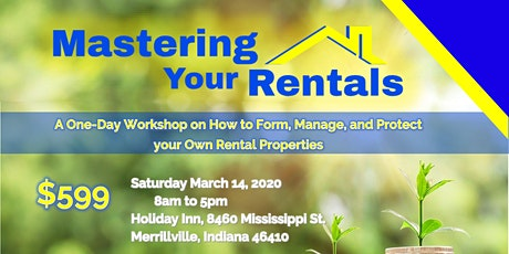 A Workshop on How to Form, Manage, and Protect your Own Rental Properties tickets