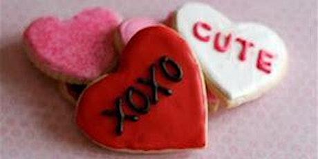 Valentine's Day Cookie Decorating tickets