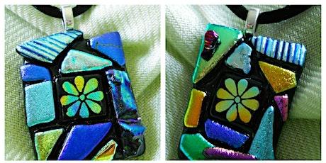 PINK Flower Necklace Workshop Wyandotte Modern Craft Winery tickets