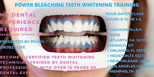 Power Bleaching Teeth Whitening Training