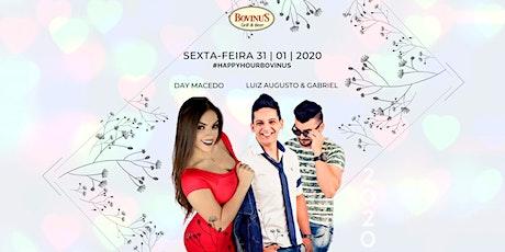 Bovinu'S Happy Hour com Day Macedo, Luiz Augusto e Gabriel ingressos