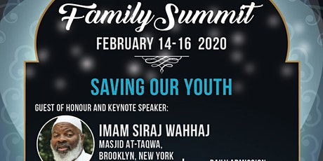 TICKETS AVAILABLE AT THE DOOR - TARIC FAMILY SUMMIT 2020 - SAVING OUR YOUTH -  tickets