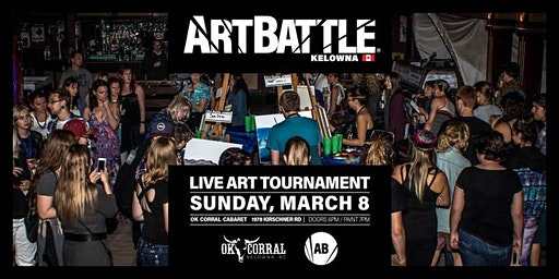 Art Battle Kelowna - March 8, 2020