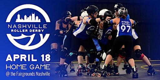 Nashville Roller Derby April 2020 Doubleheader