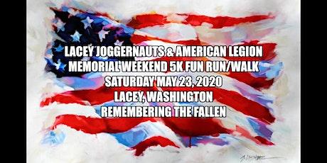 Lacey Joggernauts & American Legion Second Annual 5K Poppy Run & Walk tickets