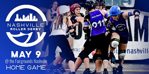 Nashville Roller Derby May 2020 Doubleheader