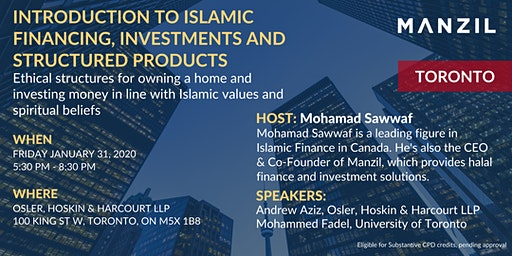 INTRODUCTION TO ISLAMIC FINANCING, INVESTMENTS AND STRUCTURED PRODUCTS