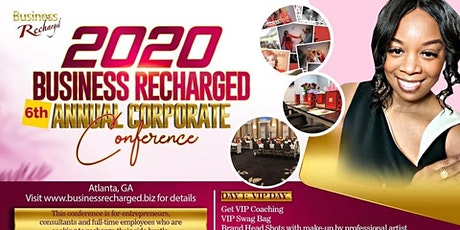 Business Recharged 2020 Corporate Conference tickets