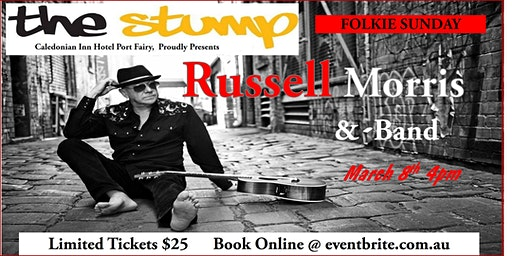 Russell Morris Live @ The Stump