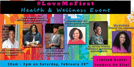 #LoveMeFirst: Health & Wellness tickets