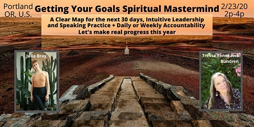 Getting Your Goals Mastermind + Accountability
