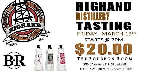 Righand Distillery Tasting tickets