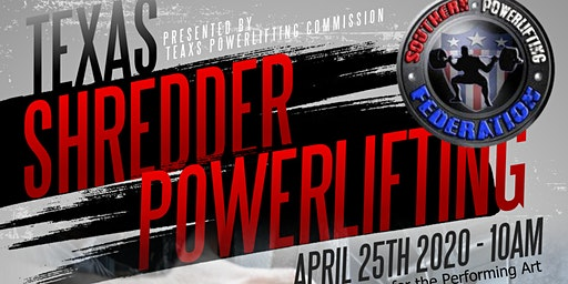 Texas Shredder Powerlifting - 2020