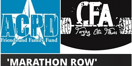 Marathon Row at CFA for ACPD Friends and Family Fund tickets