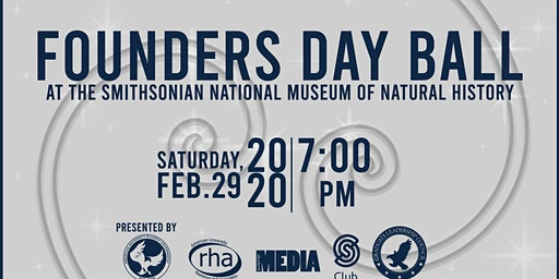 2020 Founders Day Ball at the National Museum of Natural History