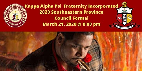 Kappa Alpha Psi Fraternity Inc. 2020 Southeastern Province Council Formal tickets