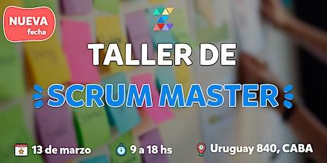 Taller de Scrum Master by Zripi entradas
