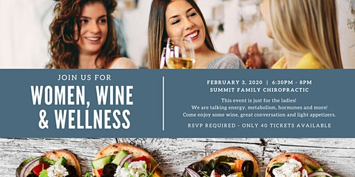 Women, Wine and Wellness