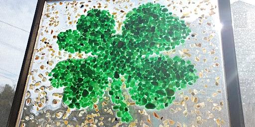 Lucky 4 Leaf Clover Resin Frame