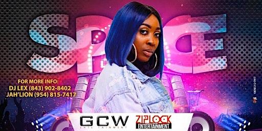 SPICE 'International Dancehall Reggae Artist'