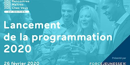6 à 8 de lancement de la programmation de la 15e édition des rencontres MCV