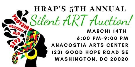 HRAP's 5th Annual Silent ART Auction! tickets