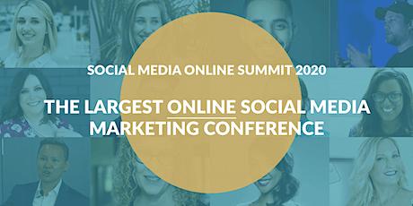 Social Media Online Summit 2020 (Online Conference) boletos