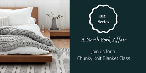 Chunky Knit Blankets DIY Night