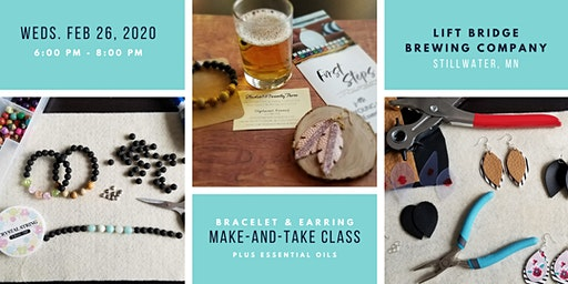 Make-and-Take Bracelet and Earring Class