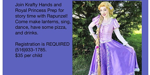 Meet and Greet with Rapunzel
