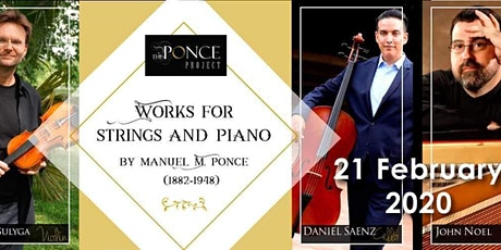 Works for Strings and Piano tickets