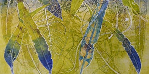 Monoprinting with a Press by Sandra Pearce