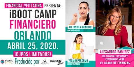 BOOT CAMP FINANCIERO + MAPA de tu RIQUEZA 2020! (Incluye Agenda + Almuerzo) entradas