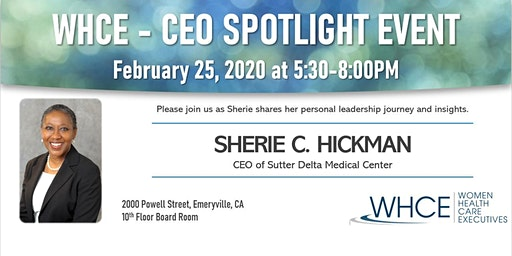 CEO Spotlight: An Evening with Sherie Hickman